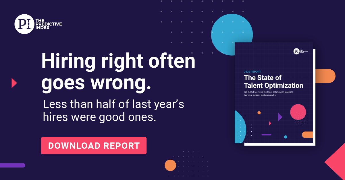 State of Talent Optimization Report Graphic - Hiring Right